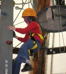 Kletter-Workshop für herzkranke Kinder und Geschwister