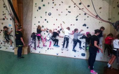 Kletter-Workshop in den Herbstferien, vom 16.10. – 18.10.2020  –  für herzkranke Kinder und ihre Geschwister ab 6 Jahre.